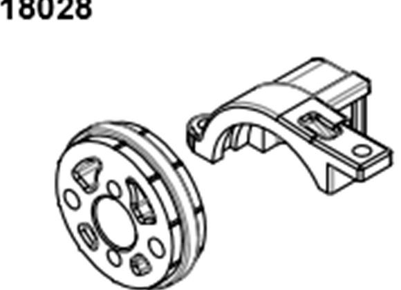 BLAZE18 Motor Mount 1 set