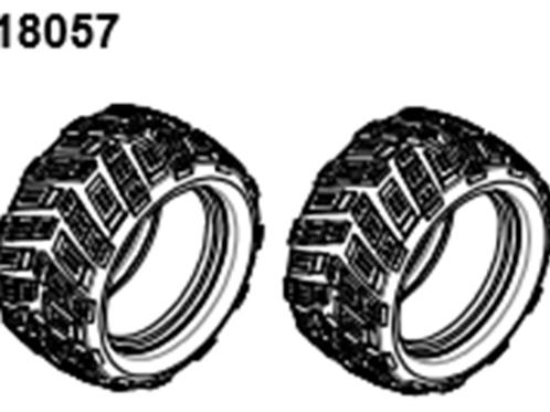 BLAZE18 Monster Tire/Form  2p