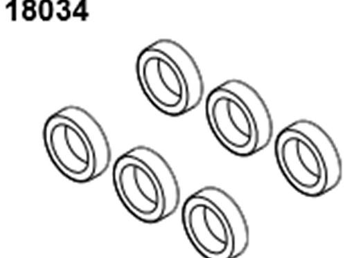 BLAZE18 Ball Bearing 8*12*3.5 6p