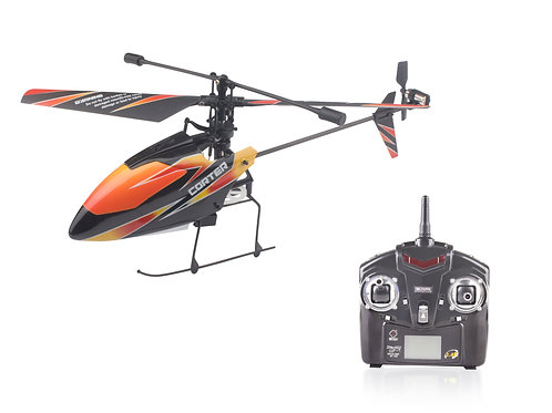 4-Channels Single-Blade Mini Helicopter - V911
