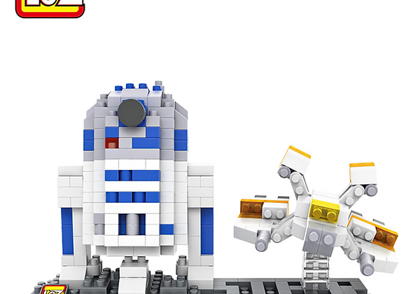 Star Wars - R2D2 & Spaceship