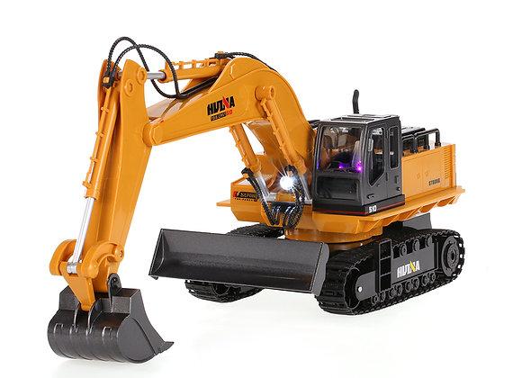 1/16 2.4G 11CH Die-Cast RC Excavator