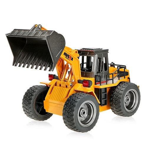 1:18 2.4G 6CH Die-Cast RC bulldozer