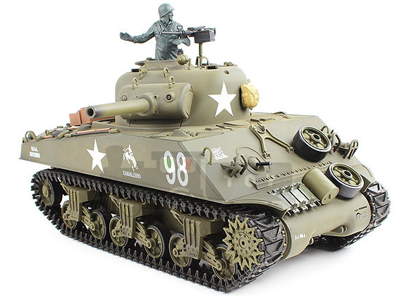 "V6.0 1/16 U.S.A M4A3 ""Sherman""  RC Tank (BB AND IR)"
