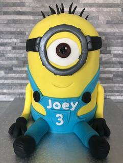 Meet my 1 eyed yellow friend, Joey