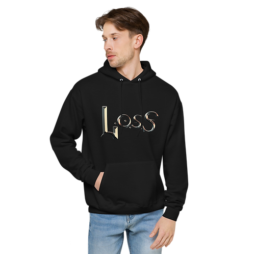 Unisex fleece hoodie Loss band