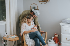 Binghamton Lifestyle Newborn Photography