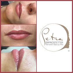 Permanent Make up Lippe