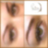 Härchenzeihnung Augenbrauen
