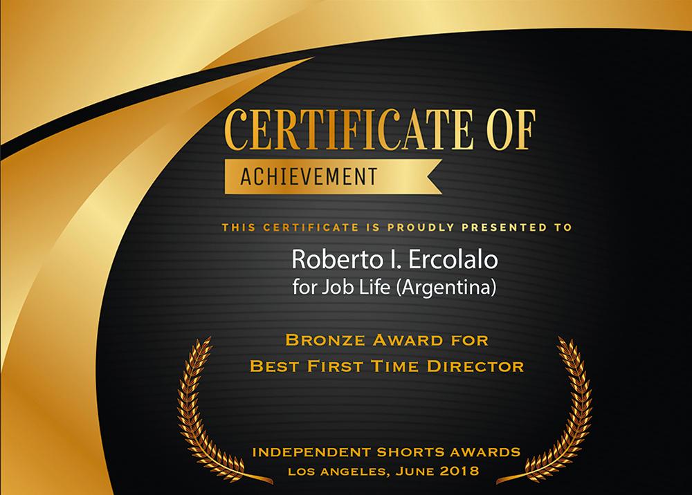 Winner of Best Director