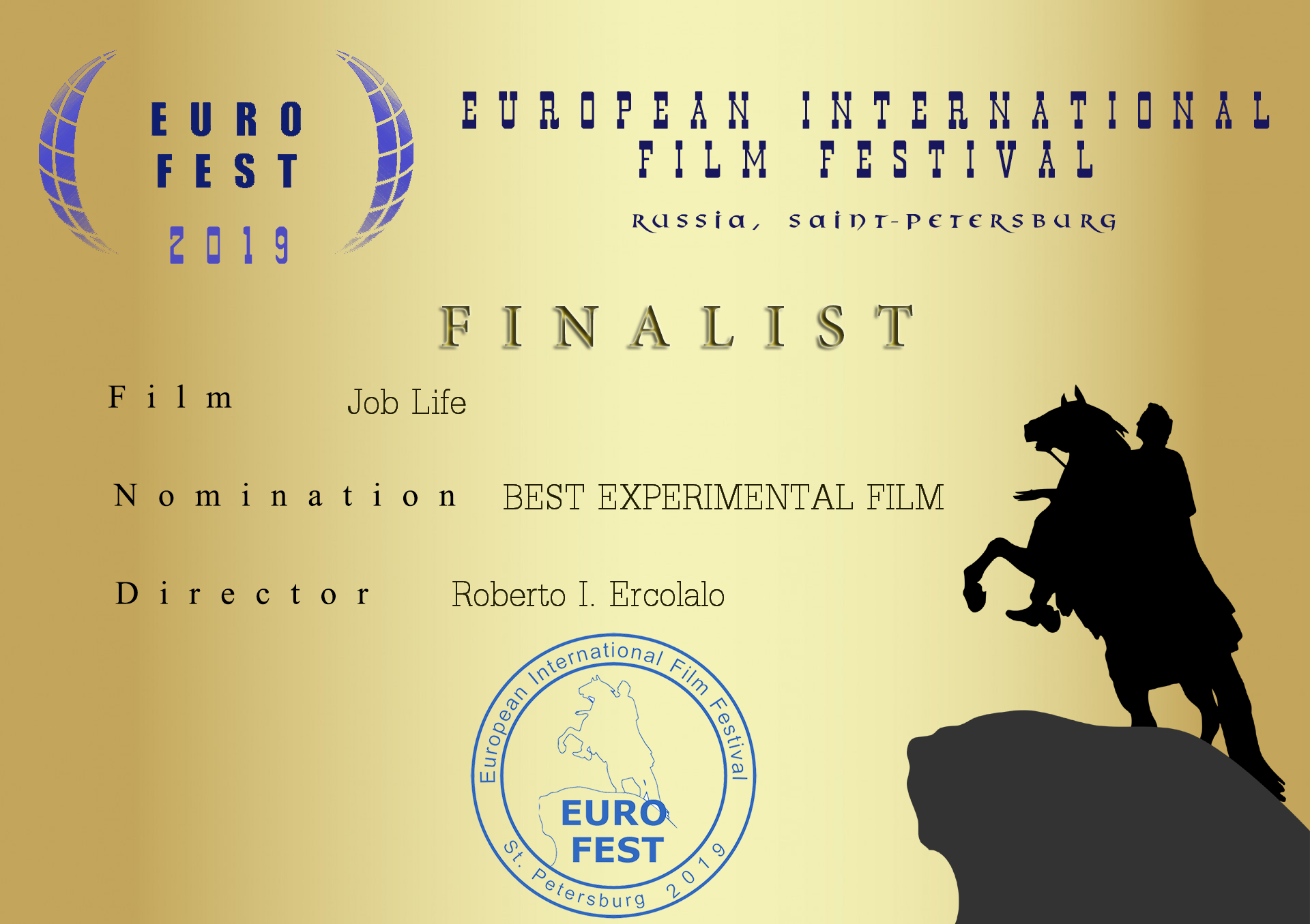 Finalist of Best Film