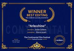 Winner Certificate