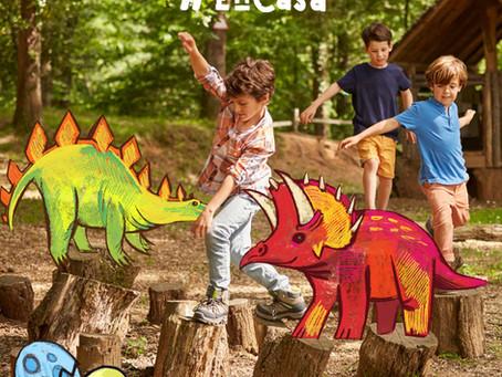 Cómo organizar  una fiesta de cumpleaños infantil inolvidable con tema dinosaurios por menos de 50€