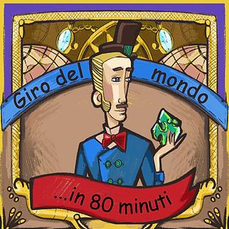 Immagine di copertina del gioco per bambini Giro del mondo in 80 minuti