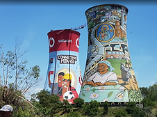 Soweto, Orlando cooling towers