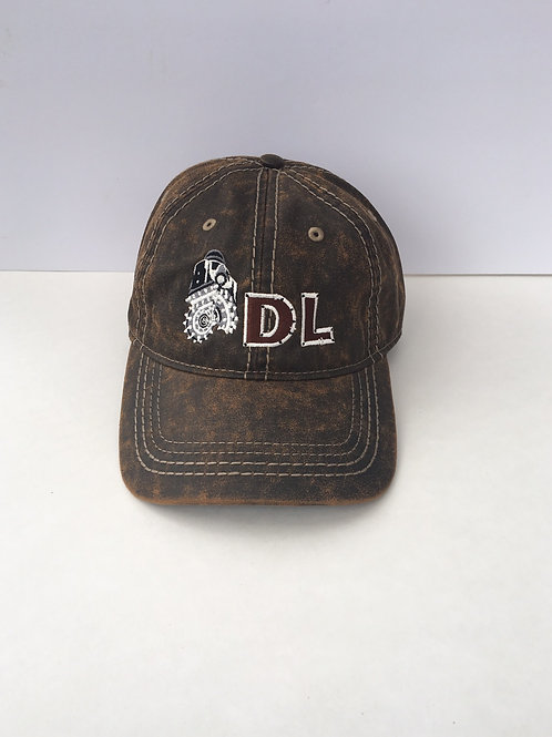 Drillers Life Port Authority Pigment Distressed Brown Roller Cone Bit Cap