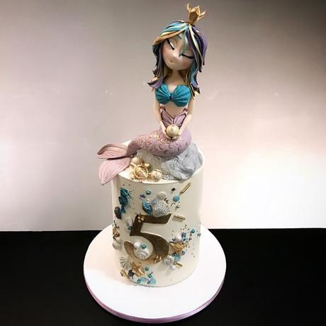 Geburtstagstore Meerjungfrau mit modellierter Figur.jpg