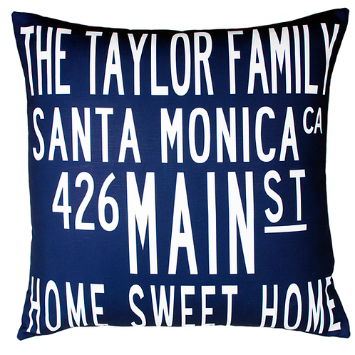 4-6 line Family Pillow