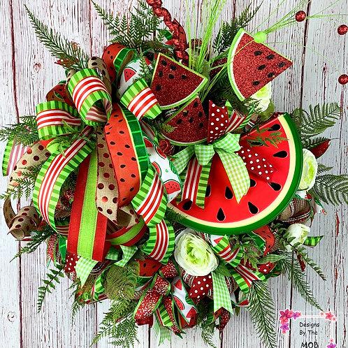 Slice of Watermelon Wreath