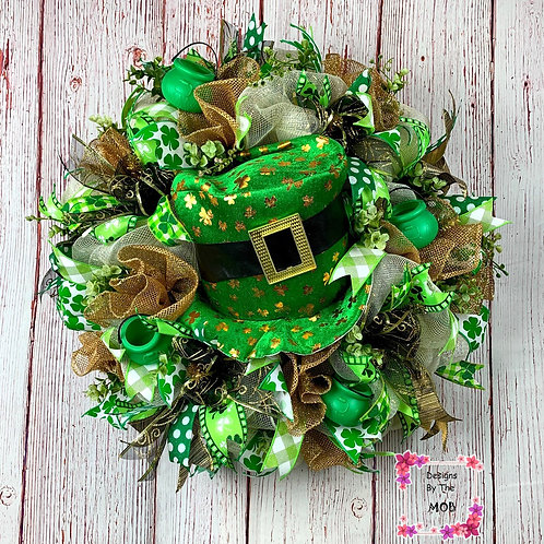 St. Paddy's Hat Wreath
