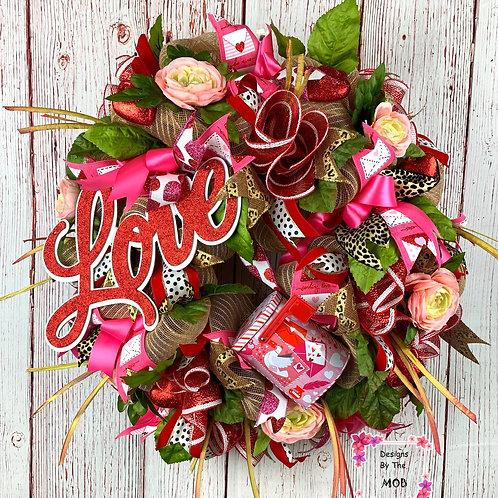 Love Mail Wreath