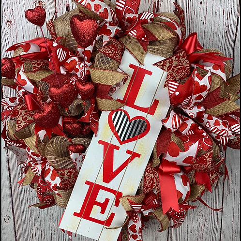 Love Is In The Air Wreath