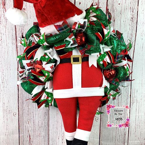 Mr. Santa Wreath