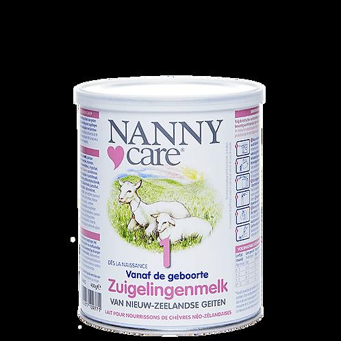 NANNYCARE® ZUIGELINGENMELK 400 GRAM