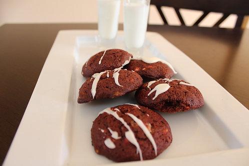 Homemade Red Velvet Cookies