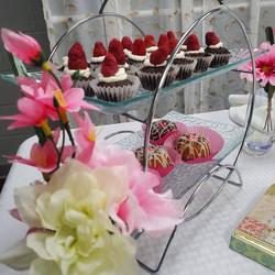 Tea Party with Mini Desserts
