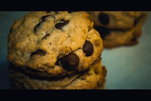 Homemade Chocolate Chip Cookies w/Walnuts