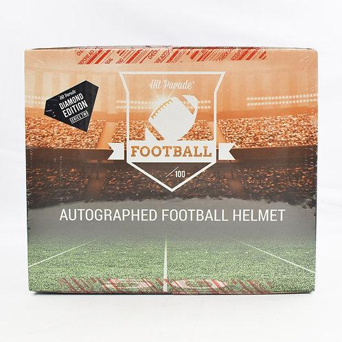 Autographed FS Football Helmet DIAMOND Edition Hobby Box