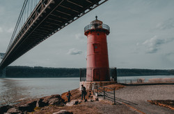 Little Red Lighthouse, April 2019