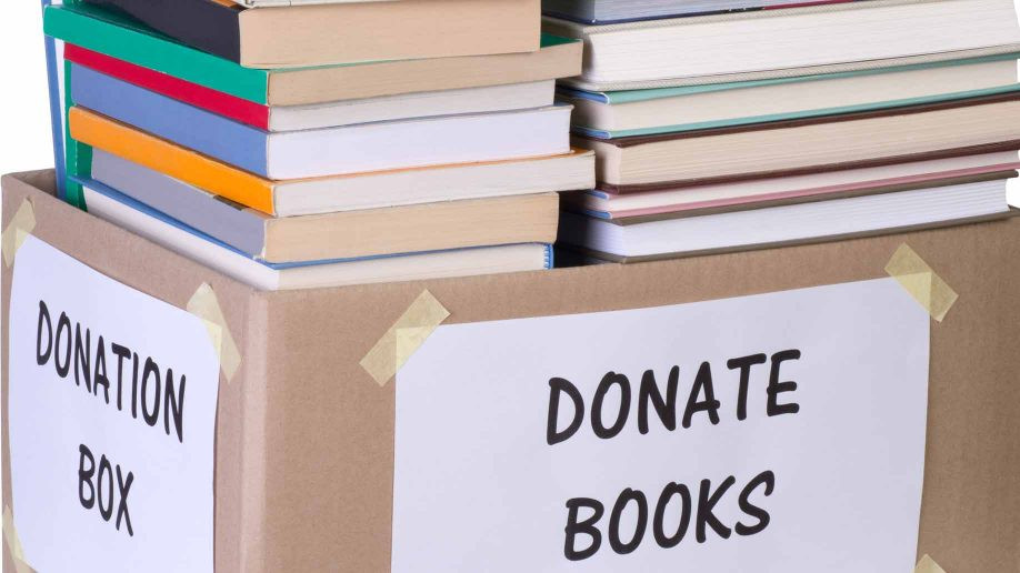 Why Donating Books is a Good Thing