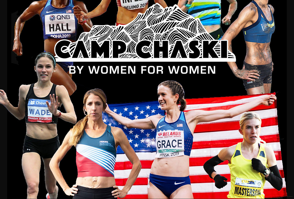 Camp Chaski By Women, For Women Poster
