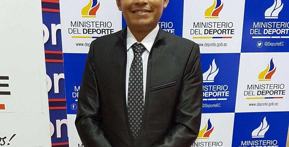 Fredy Geovanny Moposita Caillamara - Director of Athletic Development