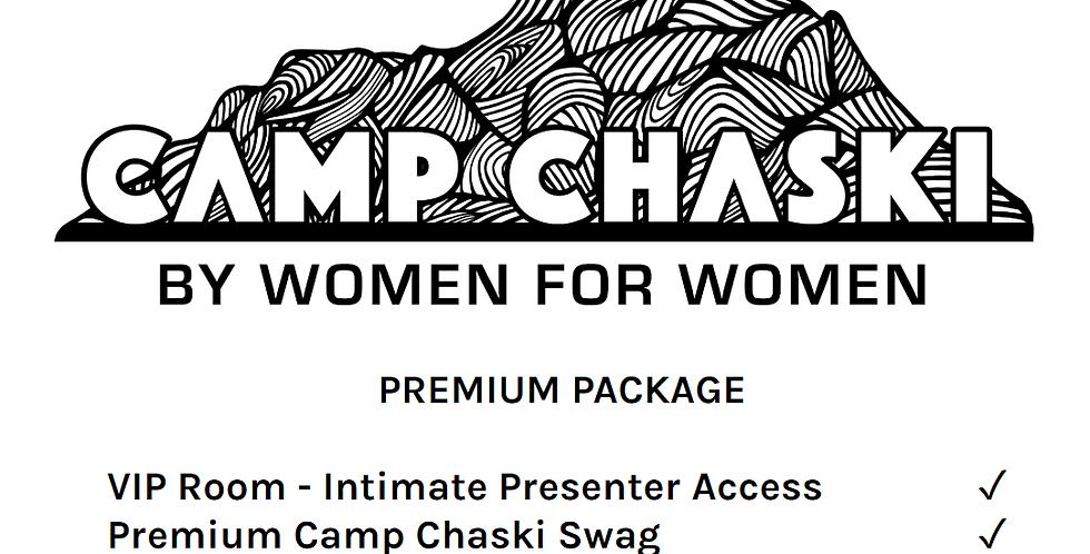 Camp Chaski Women's Week Premium Package