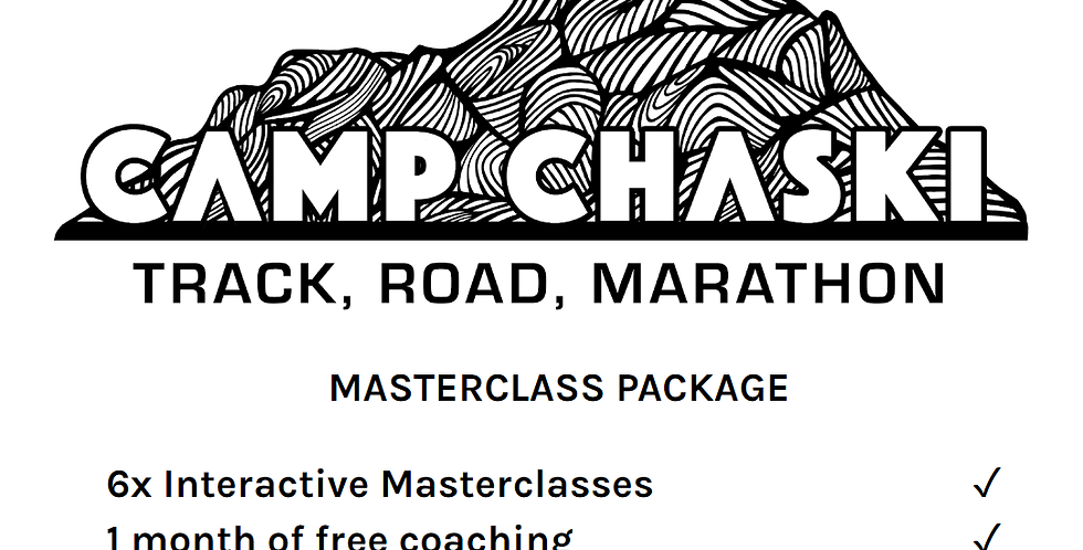 Chaski Track/Road Masterclass Only Package