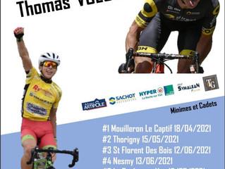 Cyclisme | Toutes les infos sur la 9ème édition du Challenge Thomas VOECKLER
