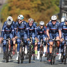L'Equipe de France aux Championnats d'Europe de cyclisme
