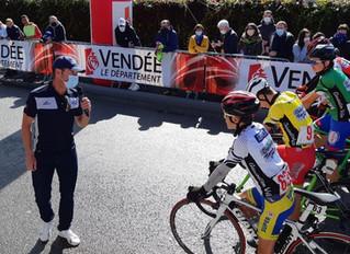 Challenge Thomas Voeckler | Thomas Voeckler présent à la finale à Mouilleron-le-Captif