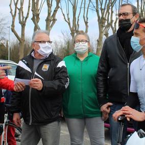 Cyclisme   Les Mousquetaires Cyclistes Pradéens félicités par Thomas VOECKLER