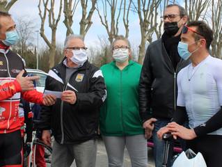 Cyclisme | Les Mousquetaires Cyclistes Pradéens félicités par Thomas VOECKLER