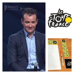 Tour de France | Thomas VOECKLER joue à l'apprenti-instituteur à J-100 du Tour de France 2018