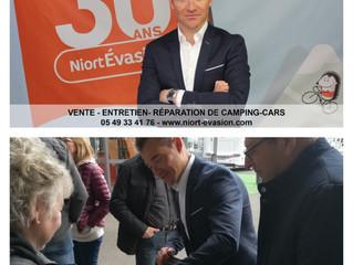 Évènement | Thomas VOECKLER invité d'honneur pour les 30 ans de Niort Evasion