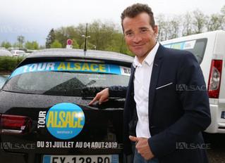 Tour Alsace   Thomas Voeckler invité d'honneur à la soirée des maires