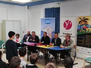 Évènement Paris-Nice | Thomas Voeckler retourne au collège