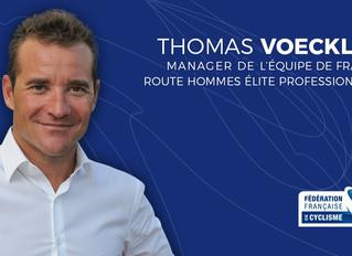 Thomas Voeckler, nouveau manager de l'équipe de France