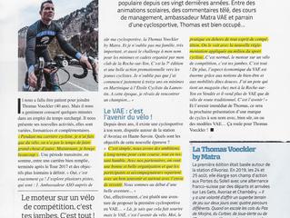 Cyclo Thomas Voeckler | La presse en parle
