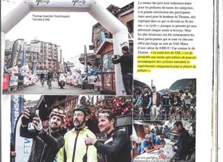 La Cyclo Thomas VOECKLER   Une 1ère édition réussie